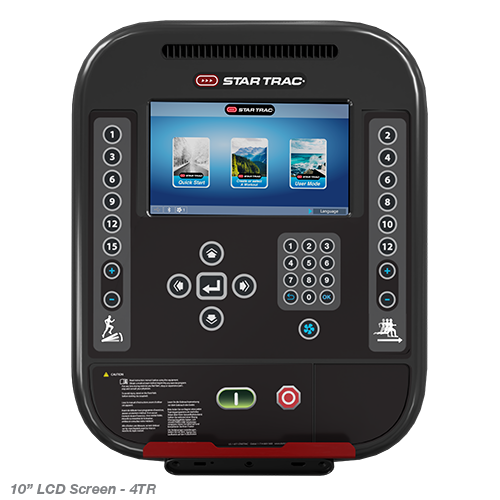 Star Trac 4 Series 10″ LCD Cardio Console