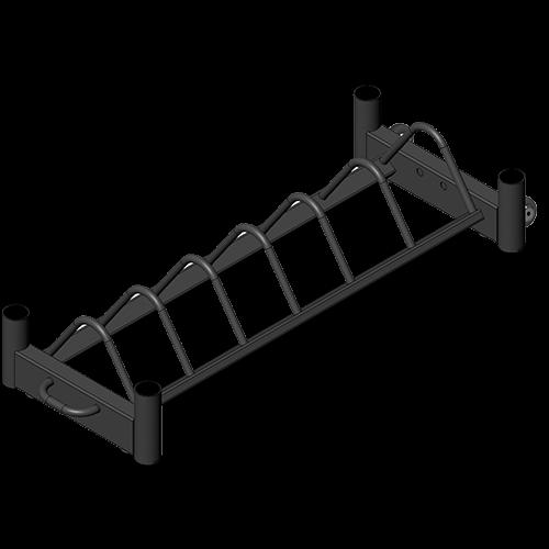 Bumper Plate Storage Cart
